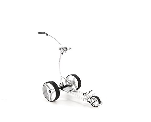 Elektro-Golftrolley BeeGon GT X400 Pro USB Silver Edition