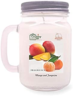 Country Jar Mango and Tangerine Soy Candle (14.5 oz. Mason Jar) Fall Sale is Back! See Details.