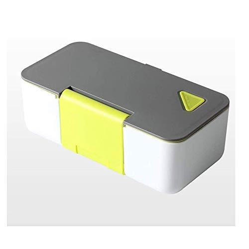 Fiambrera Multi-función de la caja de almuerzo, la aptitud de ensalada de fruta Lunch Box Set, microondas almacenamiento de alimentos de almacenaje, de gran capacidad con tapa caja de almuerzo de Bent