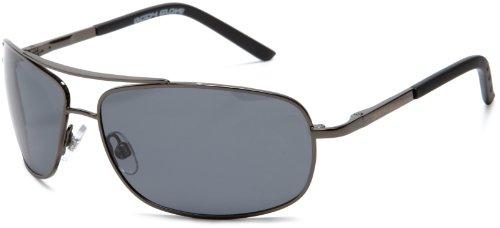Body Glove unisex adult Maui Sunglasses, Shiny Dark Gun Frame/Smoke Lens,...