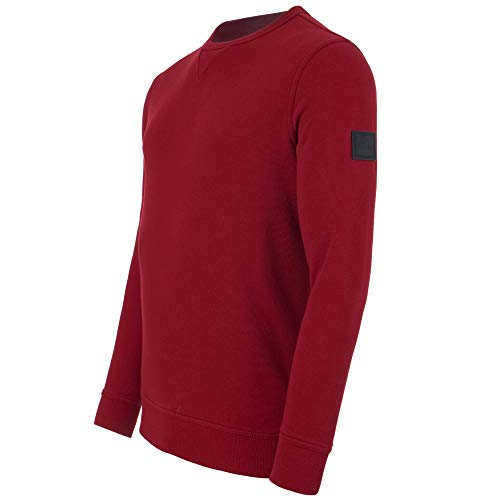 BOSS Casual Herren Sweatshirt Walkup Rot S