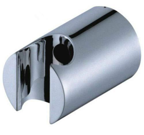FidgetGear - Supporto da Parete Rotondo, in ABS Cromato, per Doccia e Bidet, Come da Immagine, One