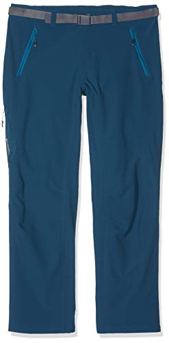 Columbia Titan Peak, Pantaloni Donna, Blu gasolio, FR : L (Taglia Produttore : 14)