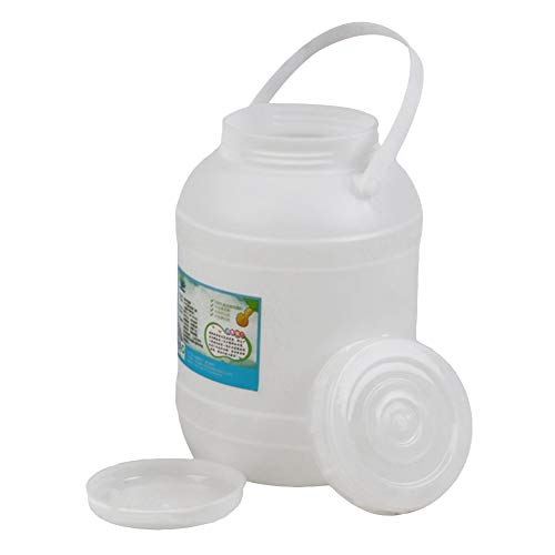 MNSSRN Barriles de Almacenamiento, barriles de fermentación, Miel, Vino y Otras calificaciones de Alimentos líquidos, Seguros respetuosos con el Medio Ambiente,A,5L