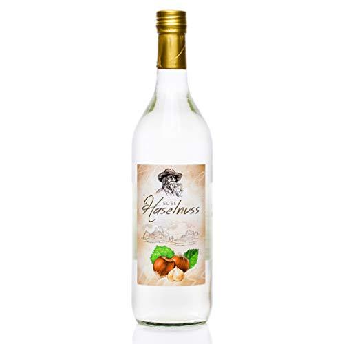 Haselnuss Schnaps 1,0 Liter, 1 Flasche, Haselnuss Spezialität von Kultbrand aus Nürnberg, Sensationelle und Allerfeinste Qualität, Direkt vom Hersteller, Die Königin unter den Prinzessinnen