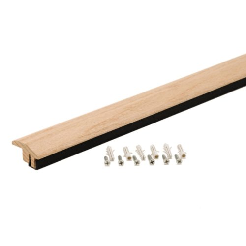 M-D Building Products 48901 36-Inch Hardwood Transition with Snap Track Tile to Laminate
