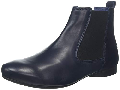 Think! Damen Guad Chelsea Boots, Blau
