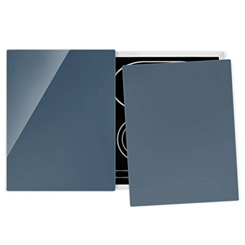 Bilderwelten Universal Placa vitrocerámica Campo de inducción - Slate Blue - 52 x 80 cm