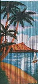 Waikiki Beaded Curtain 125 Strands (+hanging hardware)