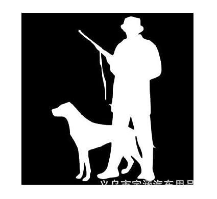 Autoaufkleber Aufkleber Fensteraufkleber Jagd Jagd Papier Jäger Wild Jagd Jagd Papier Wild Jagd Hund Jäger Schwarz Baby