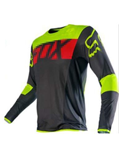 FDSNFV Maillot Ciclismo Hombre Camiseta Ciclismo Impresión Manga Larga Ropa Ciclista Cómodos,...