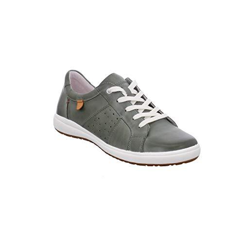 Josef Seibel Damen Schnürhalbschuhe Caren 01, Frauen sportlicher Schnürer, Women's Woman Freizeit leger schnürschuh Sneaker,Mint,38 EU / 5 UK