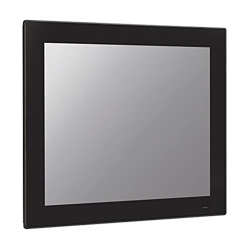 HUNSN 17 Inch TFT SXGA LED Industrial Panel PC, 10 Point Projected Capacitive Touch Screen, Intel J1900, Windows 7/10 / Linux Ubuntu, PW22, Front Panel IP65, 3COM/FANLESS, (8G RAM/128G SSD/1TB HDD)
