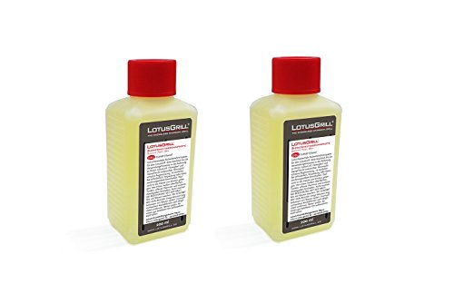 LotusGrill 2X Brennpaste 200 ml! Speziell entwickelt für den raucharmen Holzkohlegrill/Tischgrill