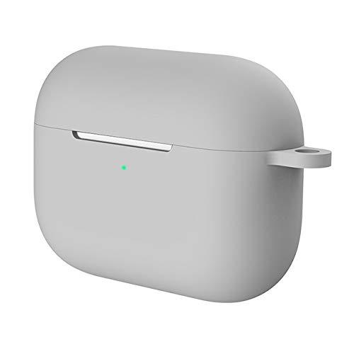 Siliconen Hoesje Beschermende Cover voor Apple Airpods pro TWS blutooth Oortelefoon zachte Air pods pro 3 Beschermhoezen hoofdtelefoonhaak, Random delivery