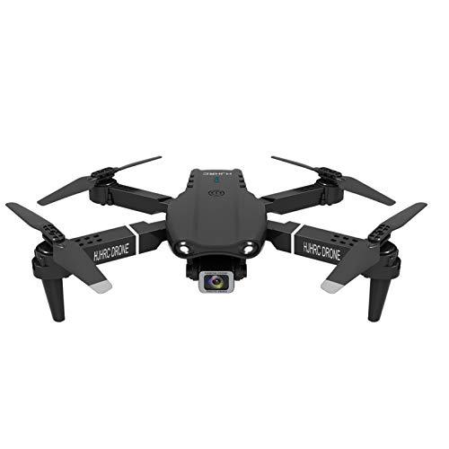 HJHRC Mini Drohne für 18 Minuten Flugzeit, RC Drone, Hexacopter Mini Helikopter mit Höhehalten, Kopflos Modus, 360° Flips und 3 Geschwindigkeitsmodi (Doppelbatterie: schwarz)