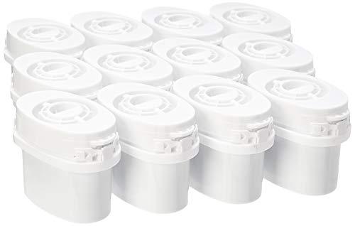 Amazon Basics Wasserfilter kartuschen, 12 Stück, für Aqua Optima®- & Brita-Maxtra®-Krüge (nicht für Maxtra+®-Filterkrüge)