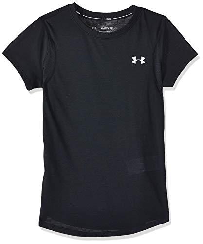 Under Armour UA Streaker 2.0 T-Shirt Femme Noir FR : L (Taille Fabricant : Taille Unique)