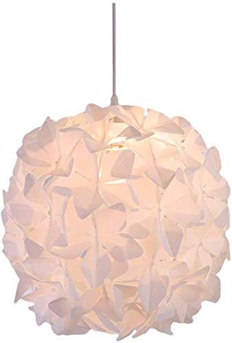 YFAZTS Araña de Estilo nórdico Restaurante lámpara de araña de Origami Estudio Estudio snowpuppe castaño de acrílico LED