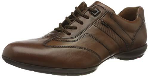 LLOYD Herren Adamo Sneaker, Cognac, 43 EU