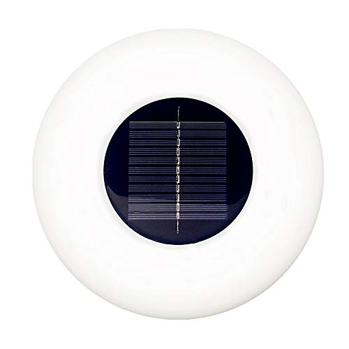 Solar Floating Swimming Pool Light with Remote Control Outdoor Color Changing Waterproof LED Lights Globe Lamps for Garden Pool Patio Party Decoration?Flying Saucer?