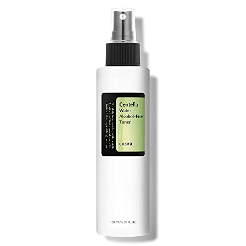 COSRX Centella Water Alcohol-Free Toner, 150ml / 5.07 fl.oz | Centella Asiatica for Soothing | Korean Skin Care, Vegan, Cruelty Free, Paraben Free