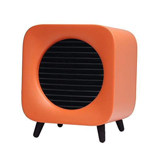FR&RF Mini-ventilatorkachel, afneembare beweegbare kamerradiator, geschikt voor kantoor, thuis, gebruik op bank, vloer binnen
