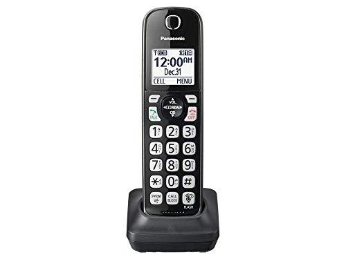 Panasonic Cordless Phone Handset Accessory Compatible with KX-TGD562 / KX-TGD563 / KX-TGD564 Series Cordless Phone Systems - KX-TGDA51M (Metallic Black)
