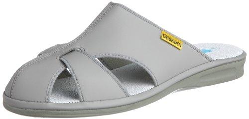 [ミドリ安全] 静電作業靴 静電気帯電防止 サンダル スリッパ エレパスクールライトN メンズ グレー M(24.5~25.0cm)(25cm)
