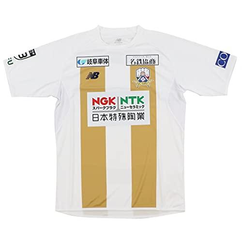 [ニューバランス] サッカー/フットサル ライセンスシャツ 2020FC岐阜レプリカシャツ MEN FP AWAY SS メンズ LLメンズ(O) ホワイト