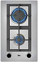 Teka EFX 30.1 2G AI AL CI But Integrado Encimera de gas Negro, Acero inoxidable - Placa (Integrado, Encimera de gas, Acero inoxidable, Negro, Acero inoxidable, hierro fundido, 1000 W)
