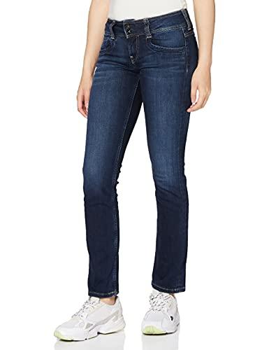 Pepe Jeans Damen Jeans Pepe Jeans, Blau Denim H06, 29W / 32L