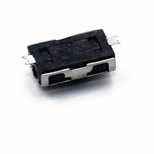 GUODONG MAYE2021 10pcs 3 * 6 * 2.5 NC Micro Interruptor Normalmente Cerrado 3 * 6 SMD Touch Touch Silica Gel BOTÓN Teclas Interruptor 4 * 6 NC Botón Suave SMD 3x6x2.5