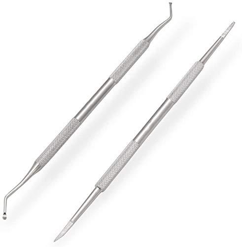 JUYOU incarnés Ongle fichier et Lifter double face professionnel de qualité chirurgicale