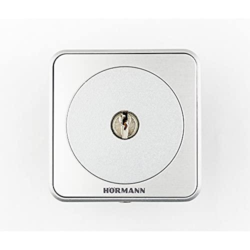 Hörmann 4511648 Interruptor STUP50 ~ convence por su diseño Exclusivo y 100% compatibilidad, en Acabado Empotrado ~ Incluye 3 Llaves