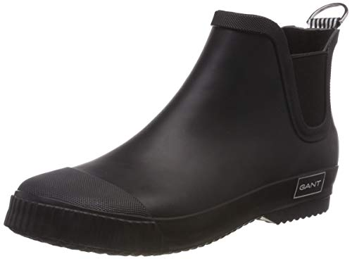GANT Footwear Damen Mandy Gummistiefel, Schwarz (Black G00), 39 EU