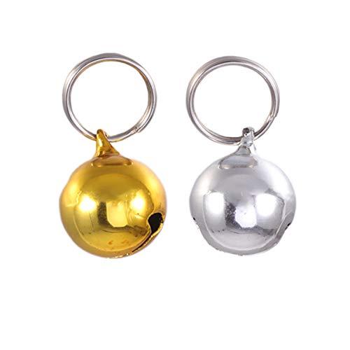 Baluue Campanas de Perro para Collar de Perro Adiestramiento de Amuletos Accesorios Colgantes para...