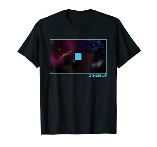 ZIMA - Camiseta de manga corta, diseño de imagen de televisión Camiseta