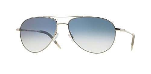 Oliver Peoples Benedict -Silver/Chrome Sapphire Vfx- 1002 52413F Sunglasses