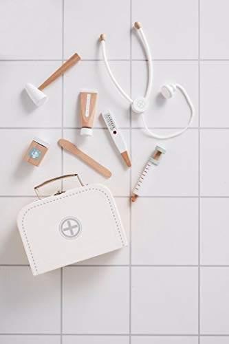 Kids Concept alle Medizinische Spiele ConceptDoctors Case White, Mehrfarbig (1)