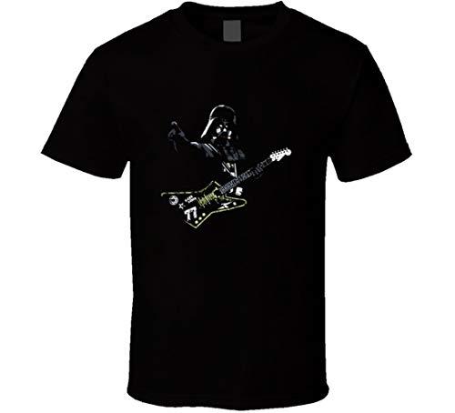 T-Shirt Darth Vader Gitarre, Schwarz Gr. M, Schwarz