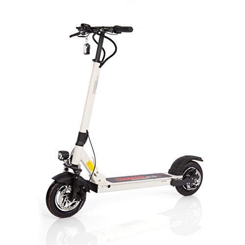 Wizzard Elektro City Scooter 2.5S E Roller mit 40 Km/h Geschwindigkeit und 50 Km Reichweite (Weiß, 2.5S)