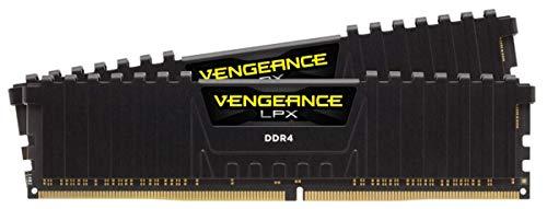Corsair Vengeance LPX 32 Go (2 x 16 Go) DDR4 3600 (PC4-28800) Mémoire Optimisée AMD C18 1,35 V - Noir
