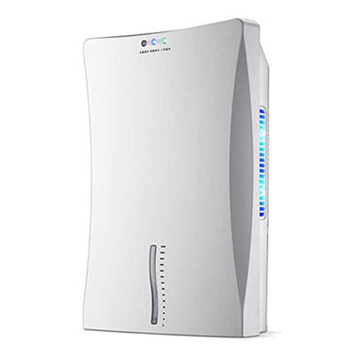 ZZA Deshumidificador de aire, deshumidificador inteligente para el hogar, secador con sistema de drenaje doble desecante inteligente