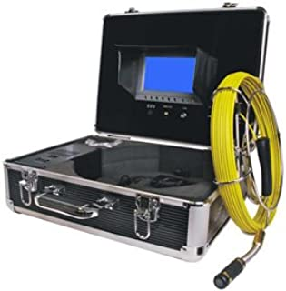 FORBEST FB-PIC3188D-130 Portable Color Sewer/Drain Camera, 130' Cable W/Aluminum Case