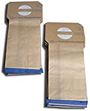Replacement for Electrolux Vacuum Paper Bags for Electrolux Style U Discovery Uprights 10 Pack # 138FPC