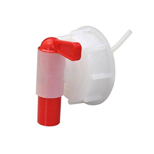 Schraubverschluss mit auslaufhahn, für kanister 20 l - 25 l - 30 l, material high density polyethylen, gewicht 0,053kg