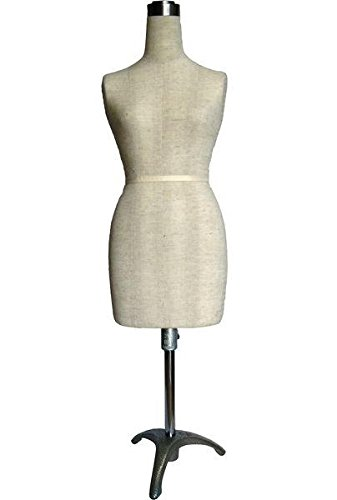 Mini Half Scale Professional Pinnable Female Dress Form (Great for Students!)