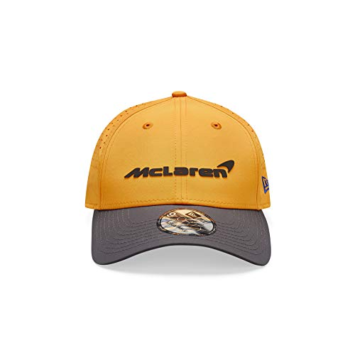 McLaren - Offizielle Formel 1 Merchandise 2020 Kollektion - Team Cap 9Forty Cap - Team Logo - Herren - Orange - Einheitsgröße