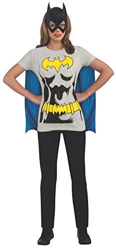 Rubie's Offizielles Batman T-Shirt-Set für Damen, Kostüm für Erwachsene in Lösse M